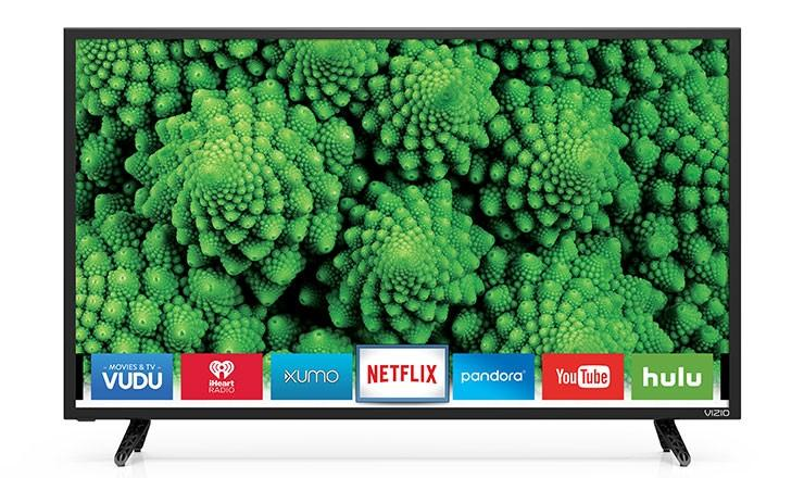 Enter for 43 in Vizio TV Giveaway with Purchase of Gift Card