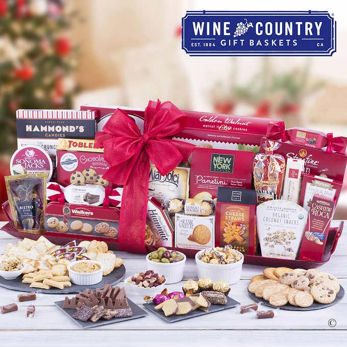 Enter for HUGE Holiday Gift Basket with Gift Card Purchase