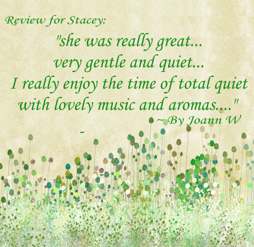 Testimonial for Stacey