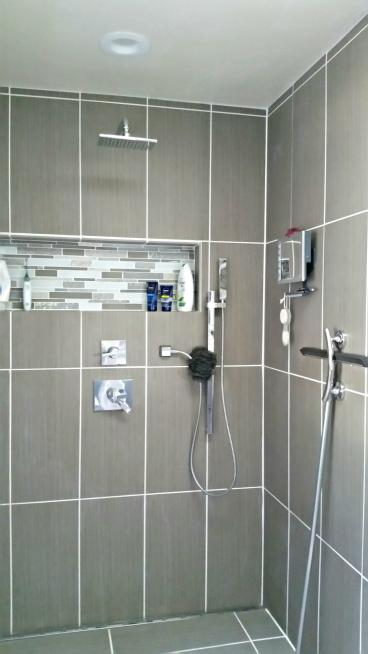 New custom shower tile in Cherry Hills Village, CO