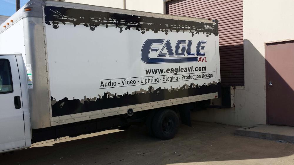 Truck graphic - Eagle AVL