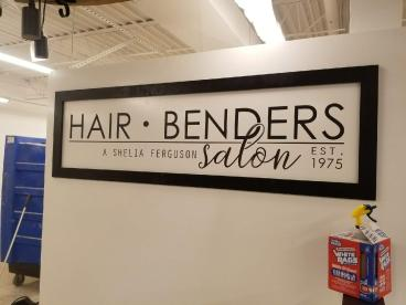 Wall Graphic for Hair Benders