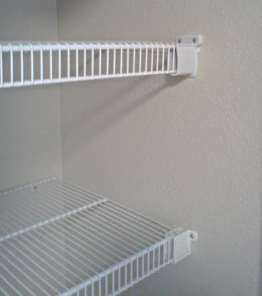 Kitchen pantry shelving installed in  Franktown, CO