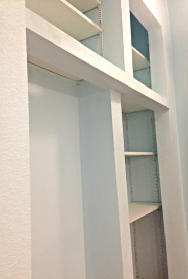 Custom built closet organizer in Englewood, CO