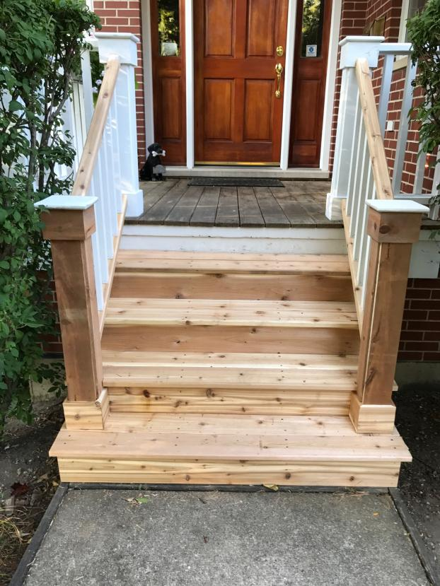 Porch repair - Wilmette - After