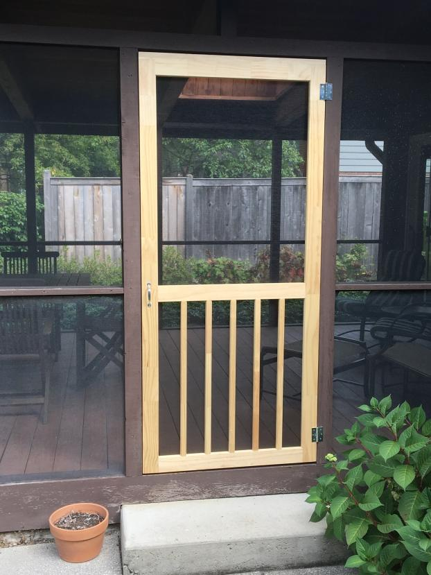 New Wooden for Screen Porch - Glencoe