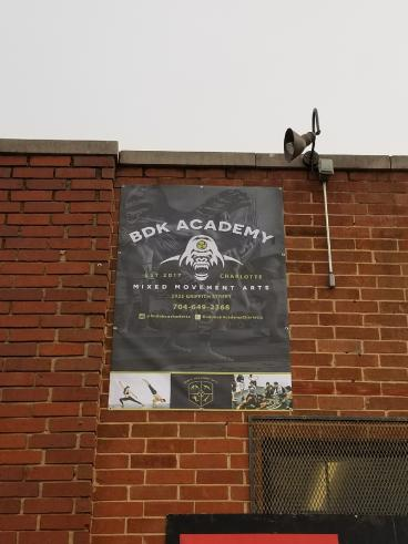 Outdoor Banner -- South End
