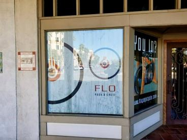 Window Banners for OVERFLO by Flo Yoga & Cycle