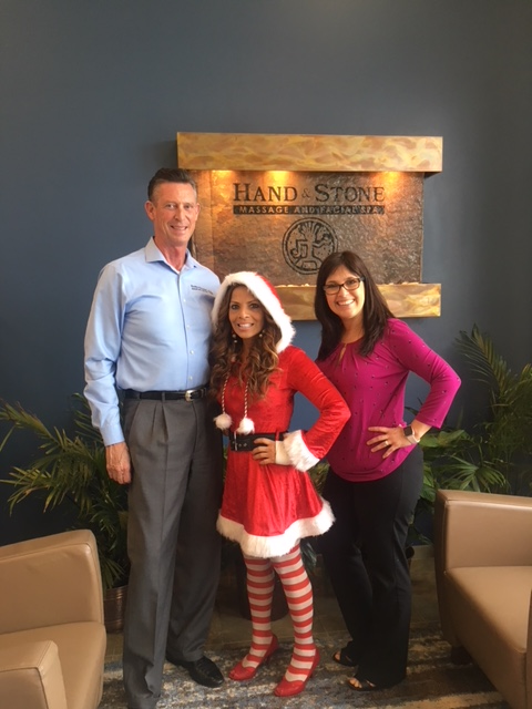 Mrs. Claus at Hand and Stone