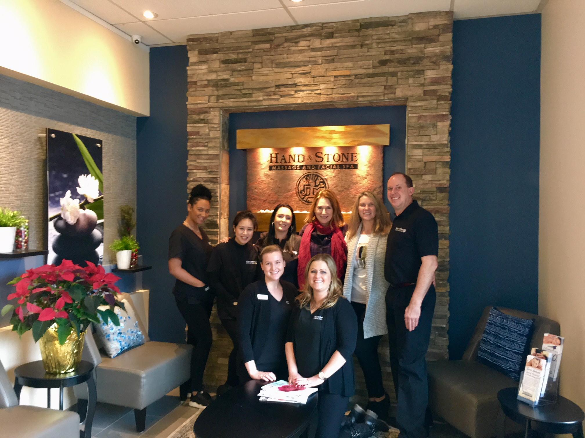 Your Hand & Stone Massage and Facial Spa team in Kirkland Washington