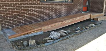 Wheelchair Access ramp built in Cherry Hills Village, CO