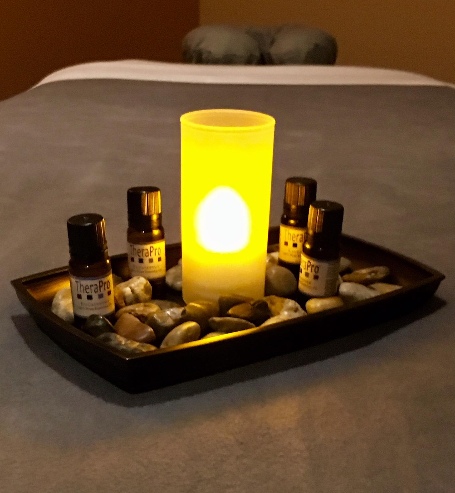 Add a soothing aromatherapy treatment to your massage or facial.