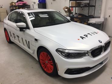 Delphi renames their self-driving vehicle division APTIV.
