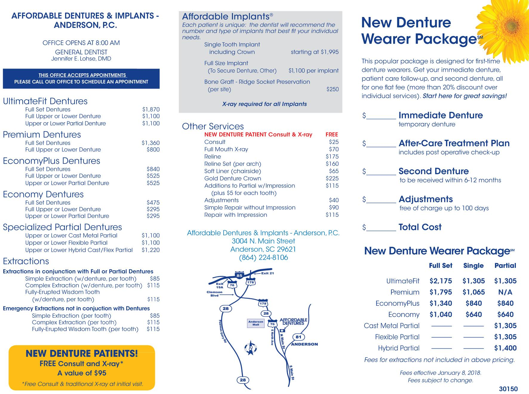 anderson sc denture care center anderson sc dentist affordable dentures implants. Black Bedroom Furniture Sets. Home Design Ideas