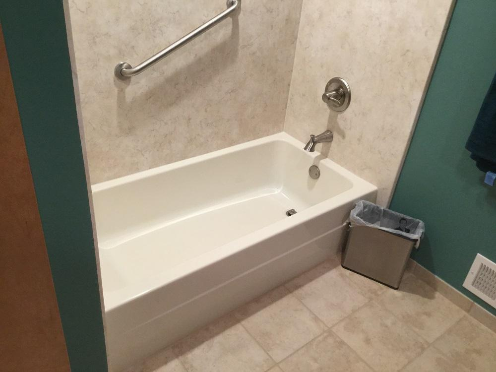 Bath Tub Replacement featuring deluxe acrylic bath tub