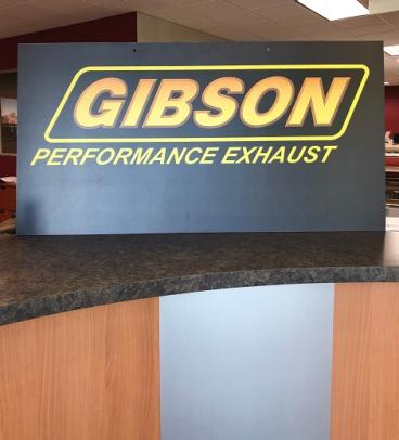 Custom Trade Show Panel for Gibson Performance, Corona, CA