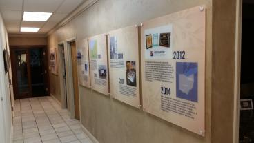 Last Acrylic Panels Describing Carrara's Timeline