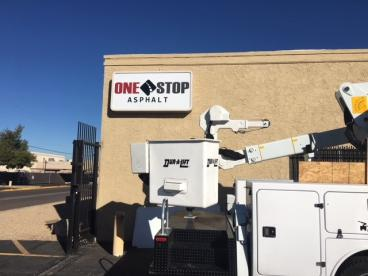 Building Signage for One Stop Asphalt