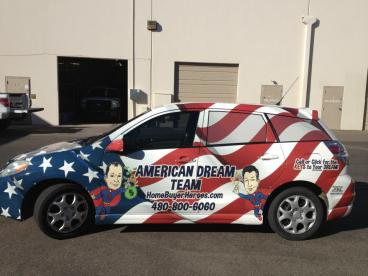 Full Vehicle Wrap for American Dream Team