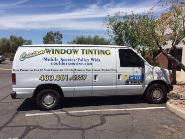 Partial Wrap for Custom Window Tinting