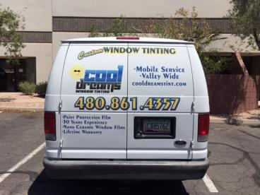 Custom Window Tinting Vehicle Wrap