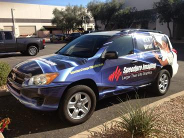 SpeedPro Full Vehicle Wrap