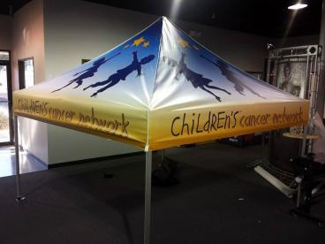 Children's Cancer Network Tent