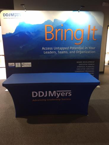 DDJ Myers Trade Show Display