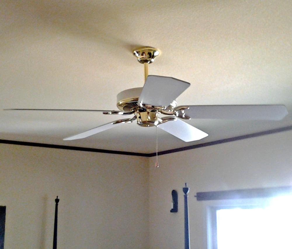 Outdated fan to be replaced in Castle Pines CO 80118