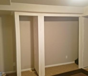 Finished closet ready to paint in Lakewood CO 80226