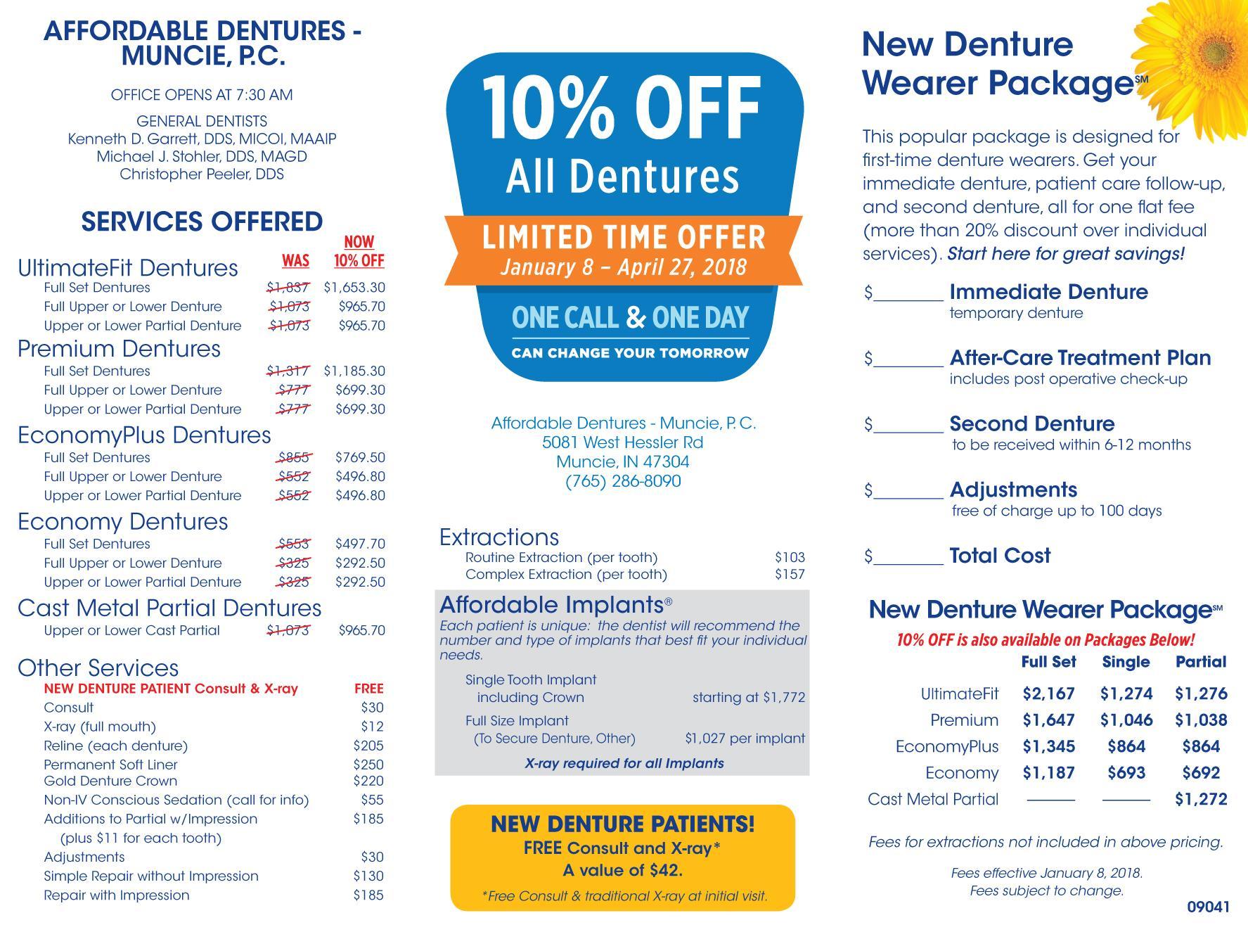 muncie in denture care center dentist 47304 affordable dentures implants. Black Bedroom Furniture Sets. Home Design Ideas