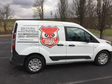 Van Decals for Night Owl Security