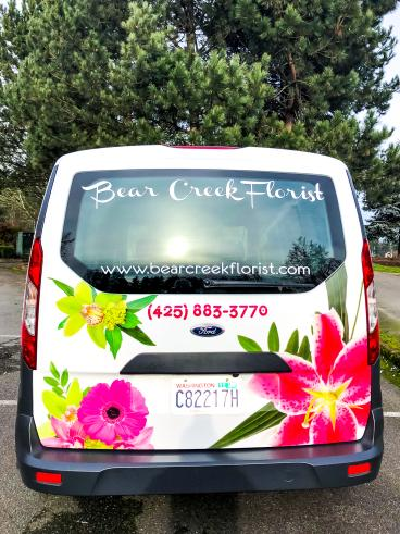Bear Creek Florist Back