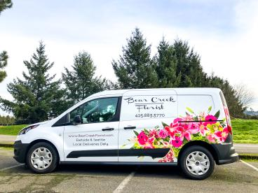 Bear Creek Florist Driver Side