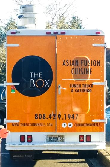 The Box: Asian Fusion Cuisine Truck Wrap
