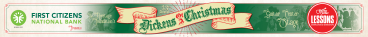 Dickens of a Christmas giant stage banner