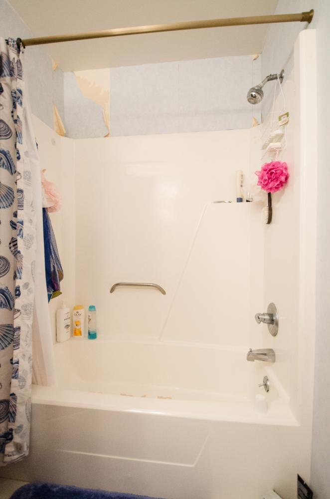 Tub Replacement Bathroom Remodel - Before