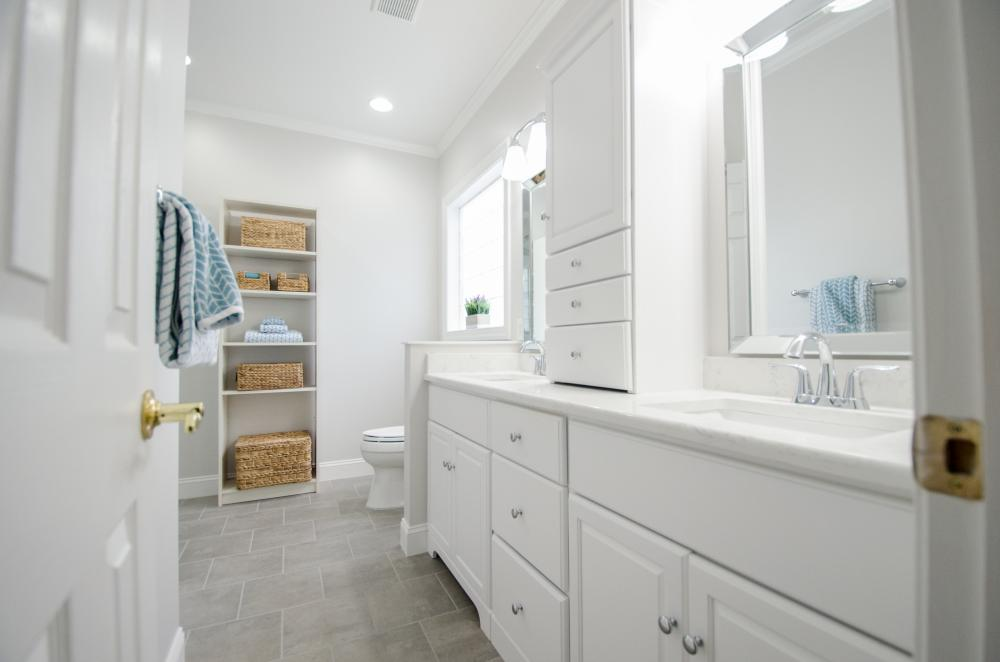Greensboro Bathroom Remodel - Complete Bathroom Remodel - Master Bathroom Remodel -  ADA compliant Bathroom remodel - Walk-in Shower Remodel - Tub to Shower Remodel - Bathroom Remodel - Triad Bathroom Remodeler - Re-Bath of the Triad -  Vanity Replacement - Cabinet Upgrade - New Bathroom Flooring