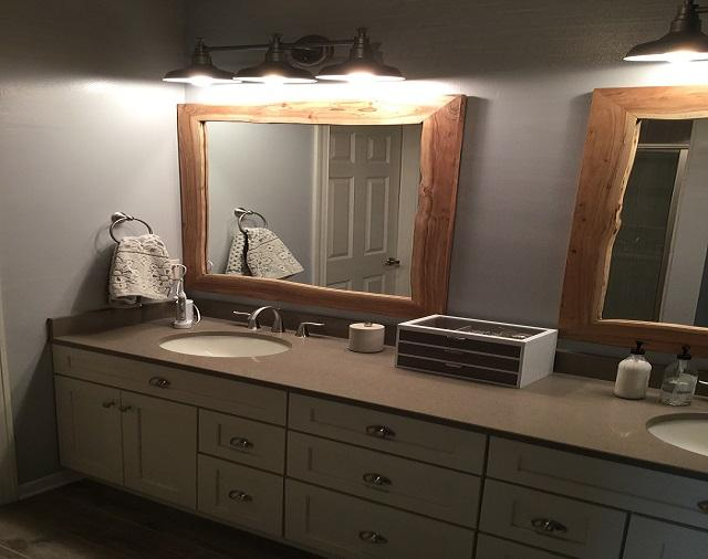 Bathroom Vanity Remodel & Flooring