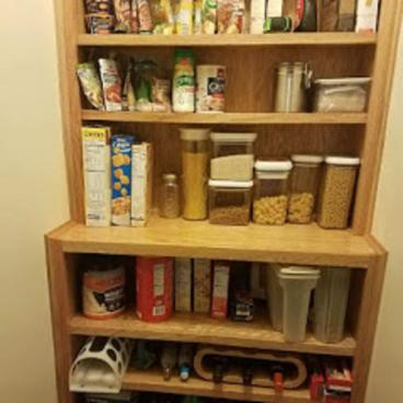 Custom Carpentry Project of Designing and Installing Shelving in Upper St. Clair, PA