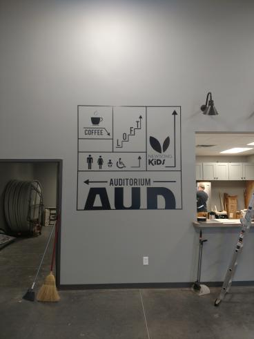 Directional Wall Graphics