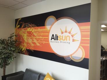 Wall Mural - Alisun Business Printing - Westchester, IL