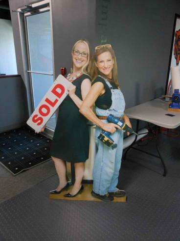 Life-Size Cut-Outs - Elisa Lynne Homes - Naperville, IL
