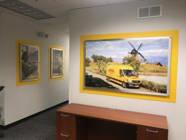 Wall Graphics - DHL - Franklin Park
