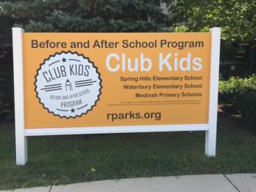 Outdoor Signage - Roselle Park District - Roselle, IL