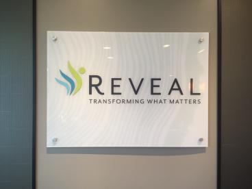 Office Sign - Reveal - Naperville, IL