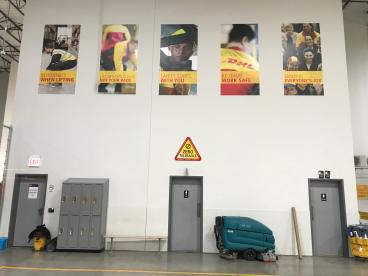 Warehouse Banners - DHL - Chicago