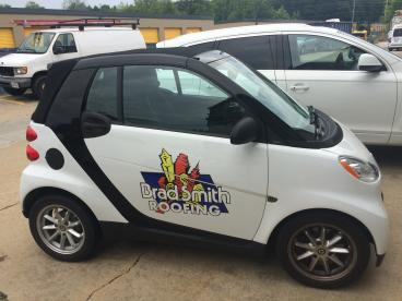 Brad Smith Roofing - Smart Car