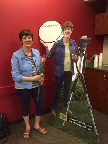 Life-Size Cut-Out - MiFun Video - Naperville, IL
