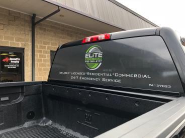Truck window perf